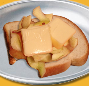Buttered Apple Treat For Kids