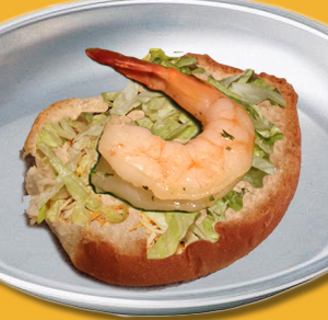 Deluxe Shrimp Sandwich