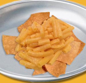Macaroni and Cheese Nachos
