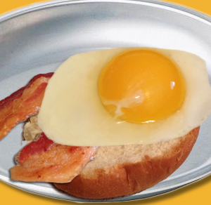 Over Easy Bacon Bottom Bun
