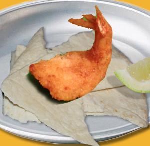 Shrimp Taco with Lime Twist