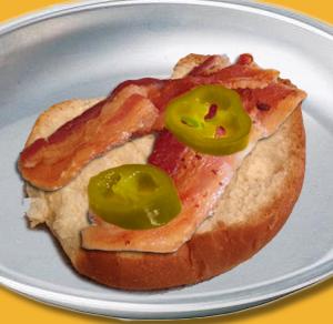 Spicy Bacon Sammy