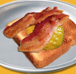 Tangy Bacon Sandwich