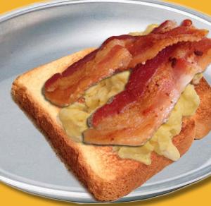the  hobo  breakfast sandwich