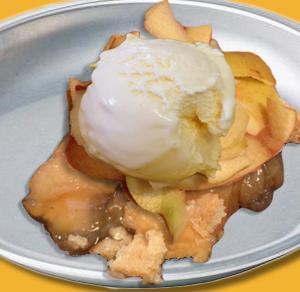 vanilla apple pie