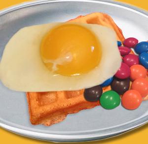Waffle Egg Treat