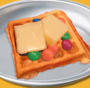 Waffle Treat Butter Machiner